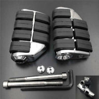 Motorcycle Large Rear Foot Pegs For 2013-2015 2004 Suzuki Boulevard C90 Chrome