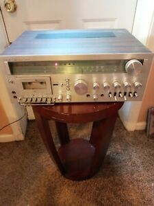 Vintage JCPenney AM/FM  RECEIVER Stereo Cassette for party only