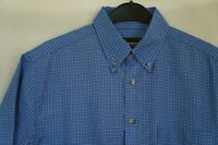 Men's PINEWOOD Outdoor Collection Short Sleeve Active Shirt Size L Blue