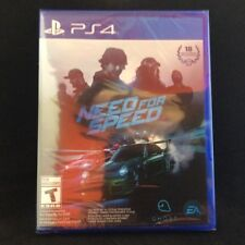 Need for Speed (SONY PlayStation 4, 2015) BRAND NEW Region Free