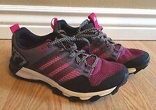 NEW Women's ADIDAS Kanadia 7 tr W Training Running Shoes Purple Pink Size 6 US