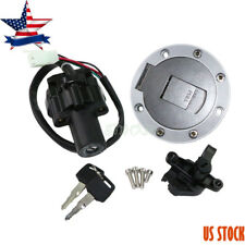 Ignition Switch Gas Cover Cap Lock Fits For Yamaha YZF600 96-03 YZF1000 XJR1200