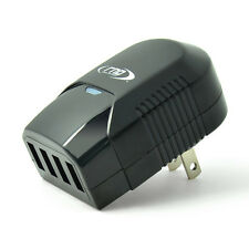 Wall charger (3.4A) 4 Port USB AC Adapter For Tablets, Cell Phones, MP3 Players