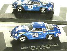 ALPINE RENAULT  A 110 TOUR DE CORSE 1969/ J.C. ANDRUET