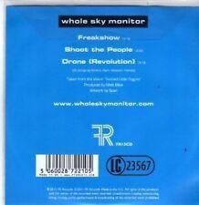(BR909) Whole Sky Monitor, Freakshow - DJ CD