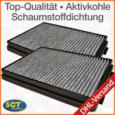 Satz Innenraumfilter Pollenfilter Microfilter Aktivkohle BMW 5er E39