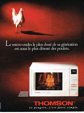 PUBLICITE ADVERTISING 1993 THOMSON   éléctroménager
