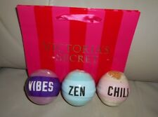 Victoria Secret Bath bombs Limited Edition 3 Scents Presented with gift bag SAVE