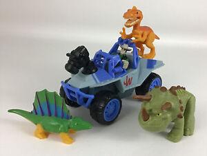 Jurassic World Dino Tracker Jeep Truck Vehicle Dinosaur 5pc Playskool Heroes A2