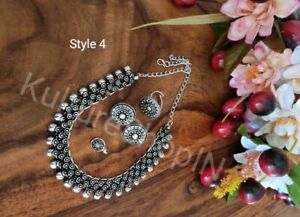Jewelry Artificial Beads Necklace all in One Choker Set For Women and Girl