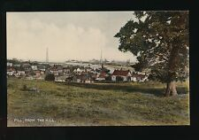 Somerset PILL from the hill c1920/30s? PPC