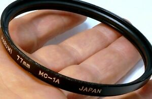 77mm to 77mm Step-Up ring Metal double threaded for lens filter