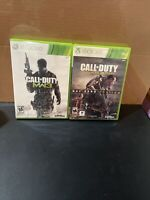 Xbox 360 Call of Duty Lot of 2: Modern Warfare 3, Advanced Warfare Day Zero