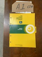 John Deere 7100 Integral Rigid Max-Emerge Planter Parts Catalog Manual PC-1468