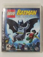 Lego Batman: The Video Game (Sony PlayStation 3, 2008) PS3 ~ Complete Free Ship