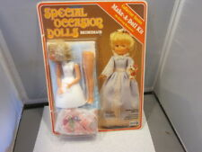 SPECIAL OCCASION DOLLS Make A Doll Kit Collector Series Craft House BRIDESMAID