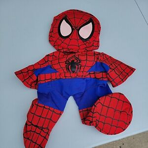 Build A Bear Clothes Costume Marvel The Amazing Spiderman Outfit Padded Chest