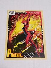 Phoenix #5 - 1991 Marvel Universe Series 2 - Free Bonus Card!