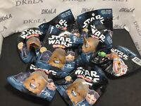 Lot Of 4 - 2017 Star Wars: Series 1 - Emoticons Faces - Blind Bags - Unopened