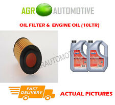 PETROL OIL FILTER + FS 5W40 OIL FOR MERCEDES-BENZ CLS55 AMG 5.4 476 BHP 2005-10