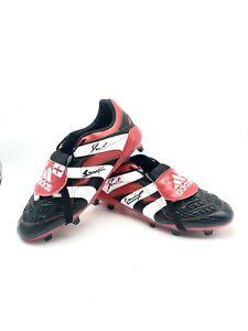 Adidas Predator Accelerator Signed By Paul Gazza Gascoigne  Football Boot + COA