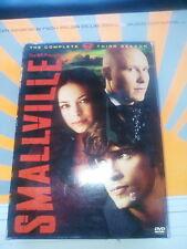 SMALLVILLE - SEASON 3 USED - VERY GOOD DVD superman