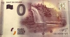 BILLET 0 ZERO EURO SOUVENIR TOURISTIQUE  SAUT DU DOUBS 2015-1