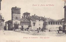 8537) CASTEL S. PIETRO DELL'EMILIA PIAZZA 20 SETTEMBRE CASA GUERRIERI.