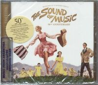 THE SOUND OF MUSIC 50TH ANNIVERSARY  EDITION SOUNDTRACK SEALED CD NEW 2015