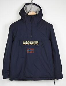 NAPAPIJRI N0Y1G6176 Men's MEDIUM Fleece Lined Hooded Pullover Jacket 36145_GS