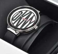 DKNY NY2728 Astoria Black Leather Wrap Strap Women's Watch A30