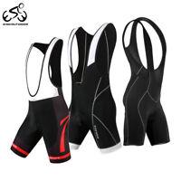 Men's Cycling Bib Shorts Bike Tights Bicycle Sports Short Pants 3D Padded S-2XL
