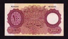 Pakistan 100 Rupees 1953 P-14   F+/ VF