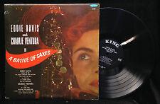 Eddie Davis/Charlie Ventura-Battle Of Saxes-KIng 665-RARE