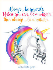 ❤UNICORN EARRINGS WITH CARD ❤ BIRTHDAY GIFT MAGICAL CREATURE ❤ Made in UK