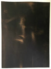 LEATHER PIECE OF COWHIDE 1 @ 260MM X 220MM CRAZY HORSE 2 mm THICK PULL-UP FIRM