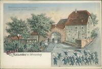 Ansichtskarte Schlachtfeld bei Weissenburg um 1900  (Nr.871)