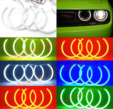 RF cotton RGB LED angel eye halo ring for Dodge Challenger 15-20 Headlight DRL
