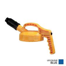 More details for oil safe stumpy spout lid - colour: blue