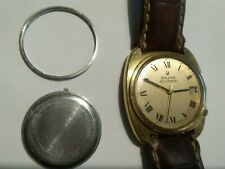 Vintage Bulova Accutron M8 Waterproof,  Cal 2181 Gold Plated, 1968/9