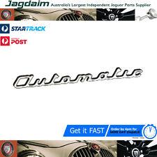 New Jaguar MK1 MK9 3.4 Automatic Trunk Boot Badge Emblem BD11885