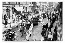 pt7185 - Dewsbury , Whitsuntide Procession , Yorkshire - photograph 6x4