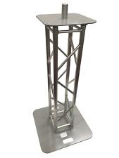 Mini 1 Meter 3.28 ft DJ Lighting Aluminum Truss Light Weight Totem Speaker Stand