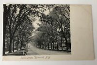 Postcard Syracuse NY James Street Vintage Rotograph Post Card New York