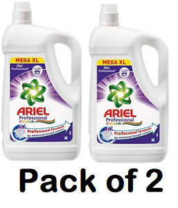 Ariel Professional Washing Liquid Colour 5L 100 Washes (Pack of 2)