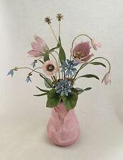 Faberge The Imperial Palace Bouquet Enamel Flowers c.1986-Franklin Mint. *2676