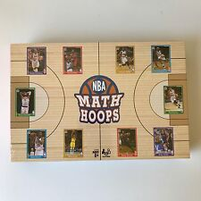 New! NBA MATH HOOPS Board Game SEALED! Hasbro 2014 Basketball Cards RARE! OOP!