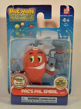 """2013 Spiral 3"""" Bandai PVC Action Figure Pacman Pac-Man Ghostly Adventures"""