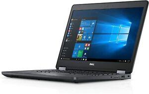 """Dell Latitude E5470 Business 14"""" HD i5-6300U 8GB 250GB HDD No Webcam Win10 Pro"""