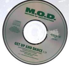 Method Of Destruction: Get Up And Dance PROMO MUSIC AUDIO CD M.O.D. Megaforce